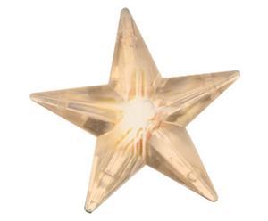 Cortina de luces LED Brian con 30 estrellas - crudo