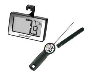 Set de termómetro de carne y termómetro digital Leslie