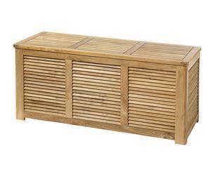 Mueble de almacenaje para exterior de teca
