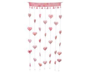Cortina decorativa Jayanti - rosa