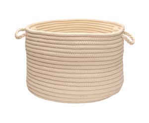 Canasta de almacenamiento Simply Home lana de cordero, Ø 35 cm
