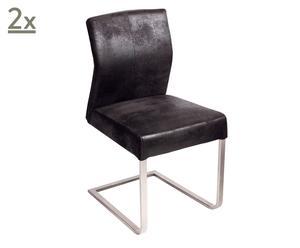 Set de 2 sillas Acaricie