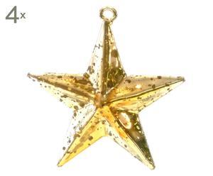 Set de 4 estrellas de Navidad Stella