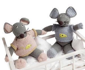 Set de 2 ratones Cuddly