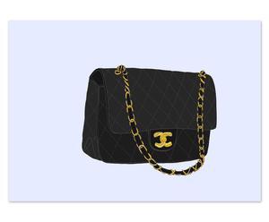 Lámina Chanel 2.55