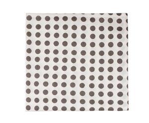 Mantel Londres, gris – 134x180