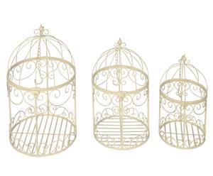 Set de 3 jaulas de pájaro
