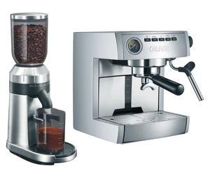 Set de máquina Espresso ES 85 y amoladora