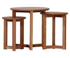 Set de 3 mesas auxiliares Jerry