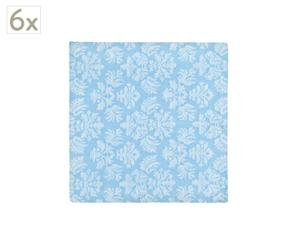 Set de 6 servilletas Medici – azul