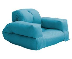 Sillón cama Yamato – azul claro