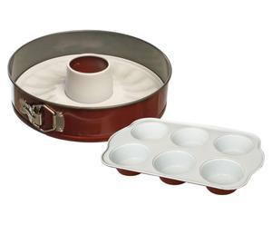Set de 1 molde desmontable y 1 molde para muffins COOK IN LOVE