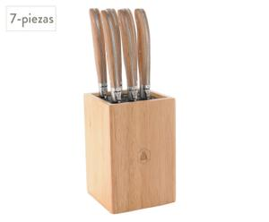 Taco con 6 cuchillos Beef