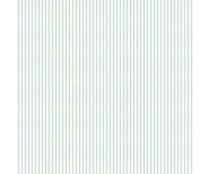Papel pintado Tafetan – blanco y turquesa