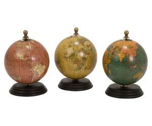 Set de 3 globos Santorini