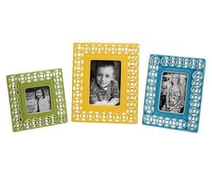 Set de 3 marcos de fotos Links