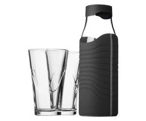 Set de jarra y 2 vasos