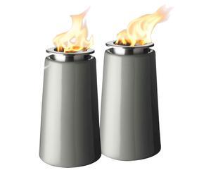 Set de 2 lámparas de aceite