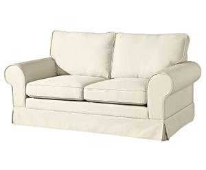 Sofá de 2 plazas Hanna - crema