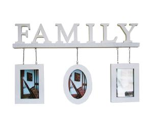 Marco de fotos triple Familiy – blanco