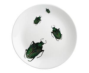 Plato de porcelana Escarabajos – pequeño