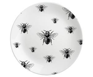 Plato de porcelana Bees – grande