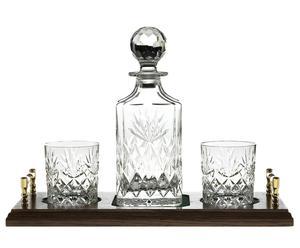 Set de 4 piezas para whisky