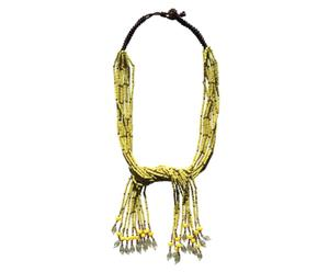 Collar MADDISON - amarillo