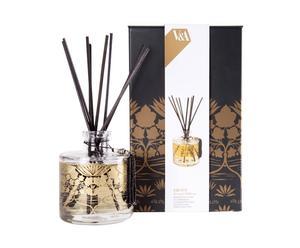 Perfume para la casa con difusor mikado - pomelo, mandarina, madera de ámbar y vainilla