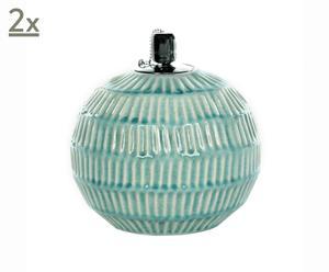 Set de 2 lámparas de aceite Breeze
