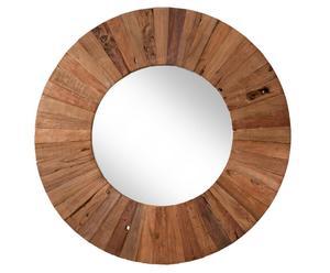 Espejo de madera - Diámetro: 90