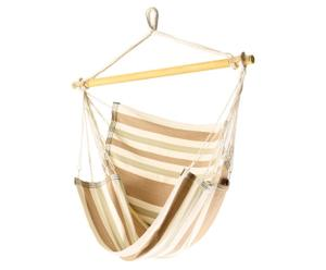 Sofá Hamaca colgante, beige – XL