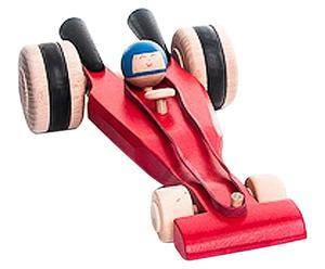 Coche de carreras de juguete - rojo