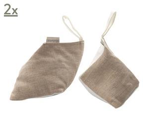 Set de 2 bolsas perfumadas para zapatos – madera de cedro