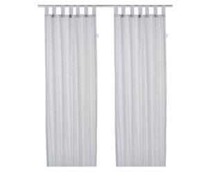Set de 2 cortinas a rayas - azul