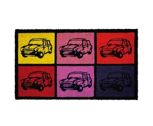 Fußmatte CULT CAR, 74 x 44 cm