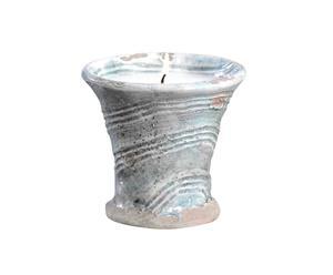 Vela de terracota ISOLA ROSSA – turquesa