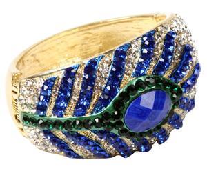 Brazalete Tanea - azul y verde