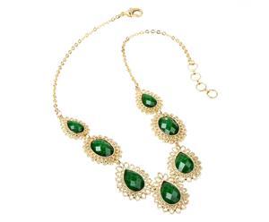 Collar Adhipa - verde