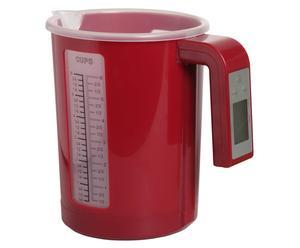 Medidor digital Cub, rojo – 1,5L