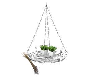 Porta-plantas de techo en metal Ted
