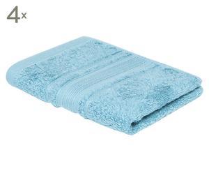 Set de 4 toallas de lavabo Royal - azul