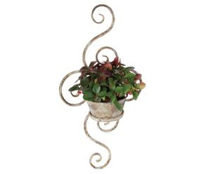 Macetero para plantas en metal envejecido Felias