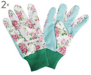 Set de 2 pares de guantes de jardinería Kalina