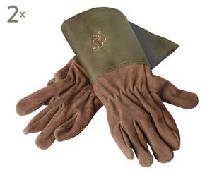 Set de 2 pares de guantes de jardinería Aralia – M