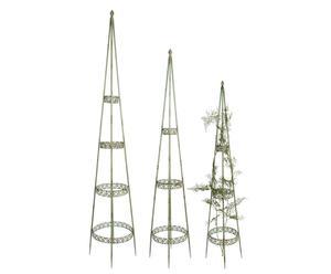 Set de 3 soportes para plantas enredaderas Raphael