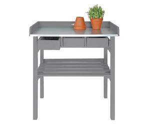 Mesa de jardinería Artemis - gris