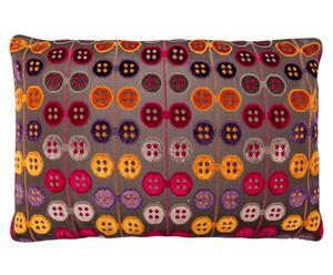 Cojín Botones, multicolor - 45x70