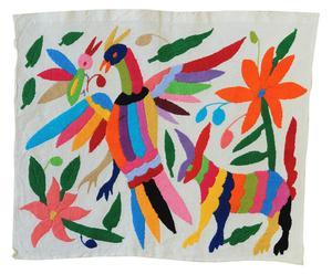 Mural bordado a mano en algodón 100% Ramm – 34x45