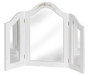 Espejo ventana Netherfield – blanco
